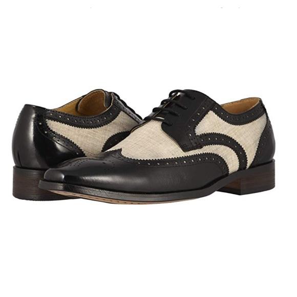 Stacy Adams Shoes   New Kemper Wingtip